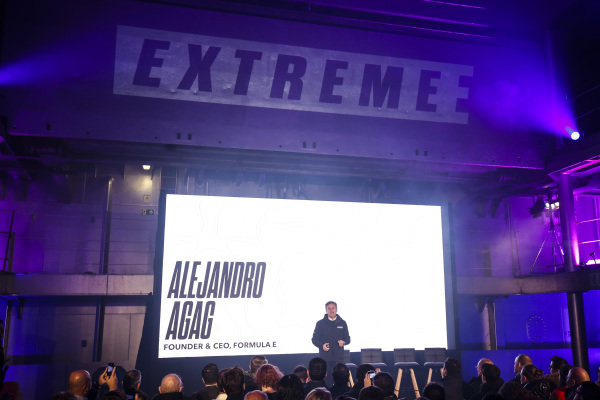Alejandro Agag, CEO, Formula E, at the Extreme E Launch