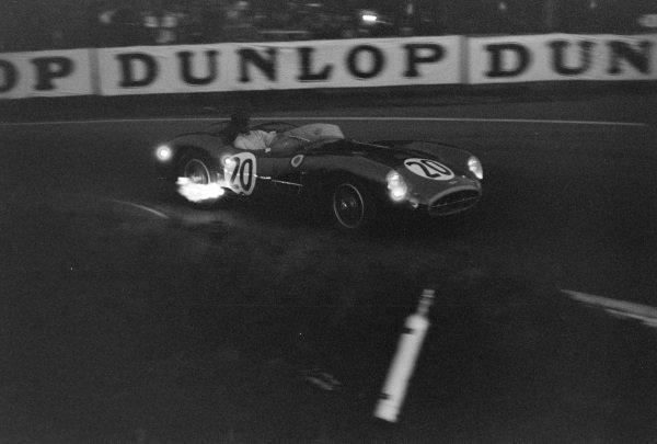 Tony Brooks / Noel Cunningham-Reid, David Brown, Aston Martin DBR1/300.