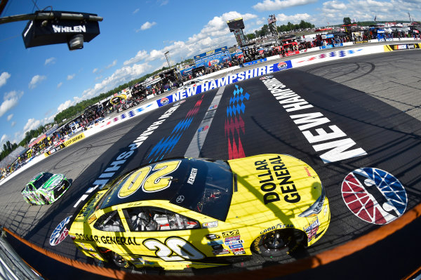 15-17 July, 2016, Loudon, New Hampshire USA Matt Kenseth, Dollar General Toyota Camry and Kyle Busch, Interstate Batteries Toyota Camry ?2015, Nigel Kinrade LAT Photo USA