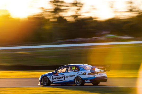 2016 Supercars Championship Round 8.  Ipswich SuperSprint, Queensland Raceway, Willowbank, Queensland, Australia. Friday 22nd July to Sunday 24th July 2016. Fabian Coulthard drives the #12 DJR Team Penske Ford Falcon FGX. World Copyright: Daniel Kalisz/LAT Photographic Ref: Digital Image 230716_VASCR8_IPSWICH_DKIMG_1898.JPG