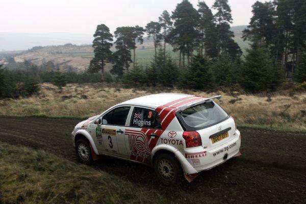 2007 British Rally Championship,Pirelli International Rally, Carlisle, Cumbria. 20th-21st April 2007.David HigginsWorld Copyright: Ebrey/LAT photographic.