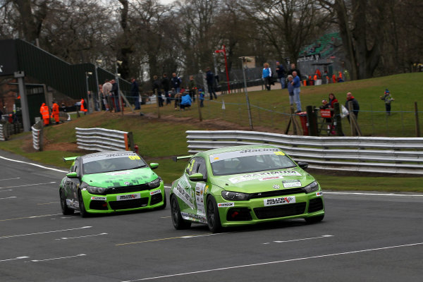 2015 Volkswagen Racing Cup, Oulton Park, Cheshire. 4th - 6th April 2015. Lee Allen (GBR) Maximum Motorsport Scirocco R. World Copyright: Ebrey / LAT Photographic.