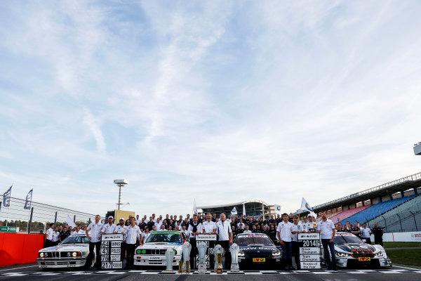 2014 DTM Championship Round 10 - Hockenheim, Germany 17th - 19th October 2014 BMW Championship Celebrations 2014 World Copyright: XPB Images / LAT Photographic  ref: Digital Image 3354540_HiRes
