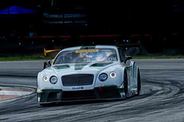 01-03 August,  2014, Lexington, Ohio, USA #08 Bentley Continental GT3, Butch Leitzinger ?2014, Richard Dole LAT Photo USA