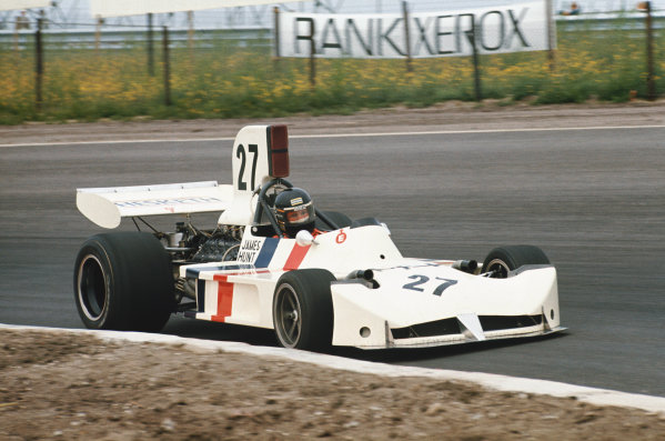 1973 Dutch Grand Prix.  Zandvoort, Netherlands. 27-29th July 1973.  James Hunt, March 731 Ford, 3rd position.  Ref: 73HOL16. World Copyright: LAT Photographic