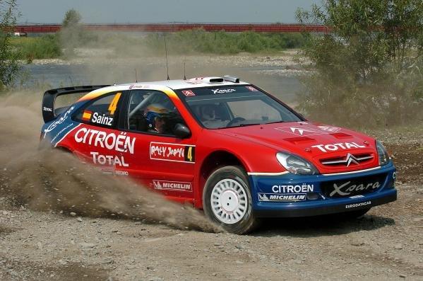 Carlos Sainz (ESP) / Marc Marti (ESP) Citroen Xsara WRC.World Rally Championship, Rd11, Rally of Japan, Shakedown, Obihiro, Hokkaido, Japan, 2 September2004.DIGITAL IMAGE
