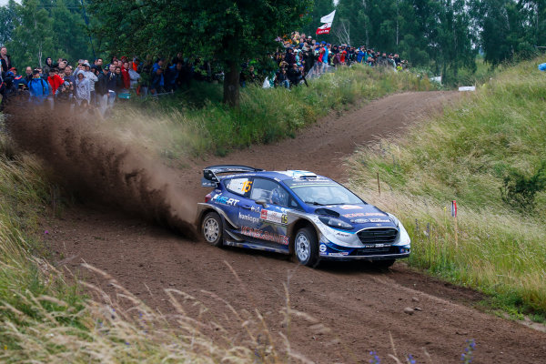 2017 FIA World Rally Championship, Round 08, Rally Poland / June 29 - July 2 2017, Teemu Sunninen, Ford, action, Worldwide Copyright: McKlein/LAT