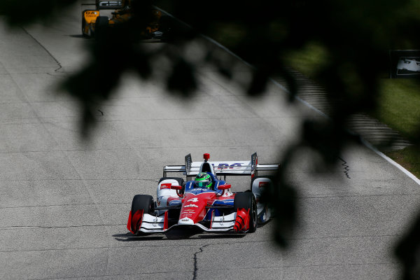Verizon IndyCar Series Kohler Grand Prix Road America, Elkhart Lake, WI USA Friday 23 June 2017 Conor Daly, A.J. Foyt Enterprises Chevrolet World Copyright: Phillip Abbott LAT Images ref: Digital Image abbott_elkhart_0617_0278