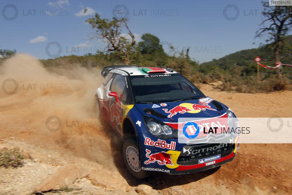 Round 03-Rally Portugal. 23th-27th March 2011.Sebastien Loeb, Citroen WRC, Action.Worldwide Copyright: McKlein/LAT
