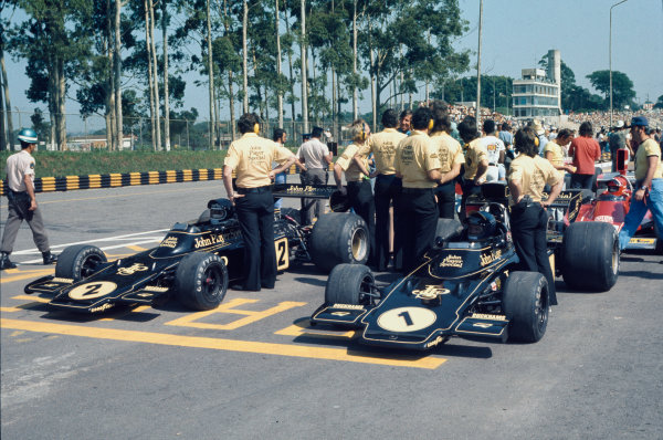 Interlagos, Sao Paulo, Brazil. 25 - 27 January 1974.