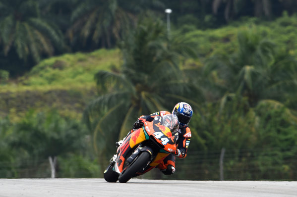 2017 Moto2 Championship - Round 17 Sepang, Malaysia. Friday 27 October 2017 Miguel Oliveira, Red Bull KTM Ajo World Copyright: Gold and Goose / LAT Images ref: Digital Image 25432