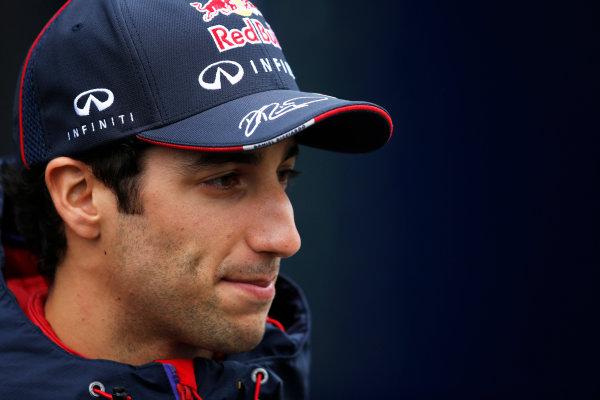 Shanghai International Circuit, Shanghai, China. Saturday 19 April 2014. Daniel Ricciardo, Red Bull Racing. World Copyright: Charles Coates/LAT Photographic. ref: Digital Image _J5R6316
