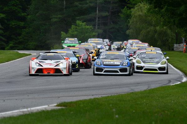 /gts71, #21 Muehlner Motorsports America Porsche Cayman GT4: Efrin Castro, Moritz Kranz
