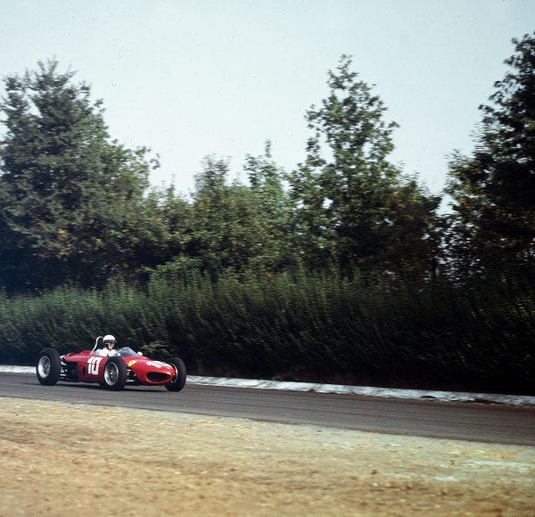 Monza, Italy.14-16 September 1962.Phil Hill (Ferrari Dino 156).Ref-3/0673.World Copyright - LAT Photographic