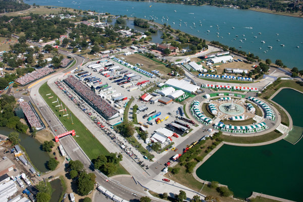 Belle Isle Aerial Photo Detroit, MI. (10/12/2011)