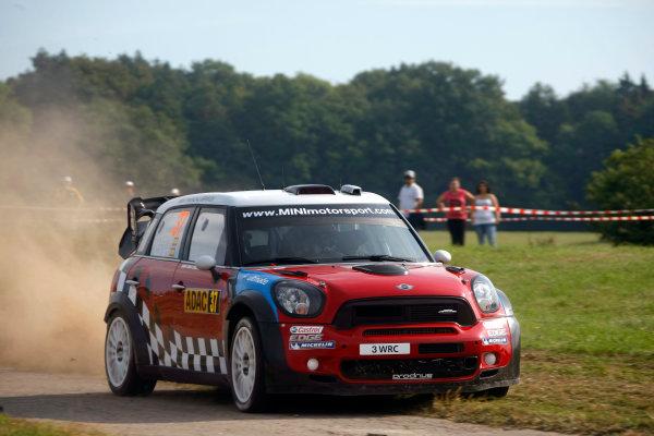 Round 09 - Rally Deutschland 18-21 August 2011.Dani Sordo, Mini WRC, Action.Worldwide Copyright: McKlein/LAT