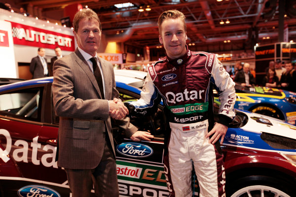 Autosport International Show NEC, Birmingham.  Thursday 10th January 2013. The new Ford Fiesta Rally Car is unveiled. World Copyright:Alastair Staley/LAT Photographic ref: Digital Image _MG_0740