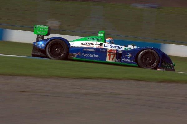 Didier Andre (FRA) Pescarolo Sport Pescarolo C60 Judd.Le Mans Series, Rd4, Donington Park, England, 28 August 2006.DIGITAL IMAGE