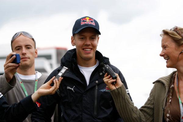 Nurburgring, Germany9th July 2009Sebastian Vettel, Red Bull Racing RB5 Renault. Portrait.World Copyright: Andrew Ferraro/LAT Photographicref: Digital Image _H0Y9397