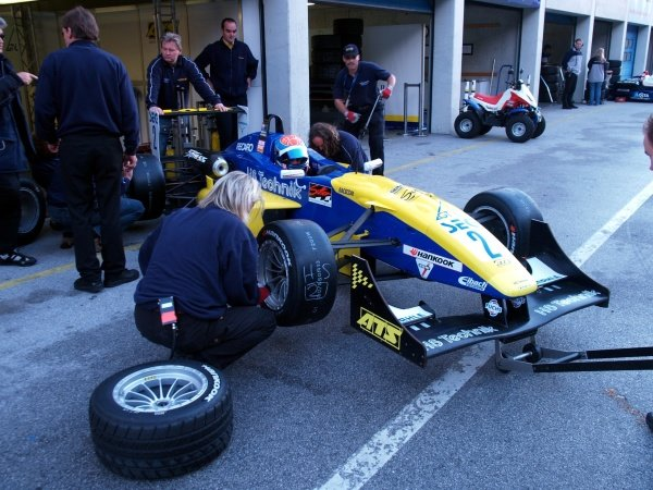 Nathan Antunes (AUS) HS Technik Motorsport.Recaro Formel 3 Cup, Rd9, Salzburgring, Austria, 16-17 September 2006.DIGITAL IMAGE