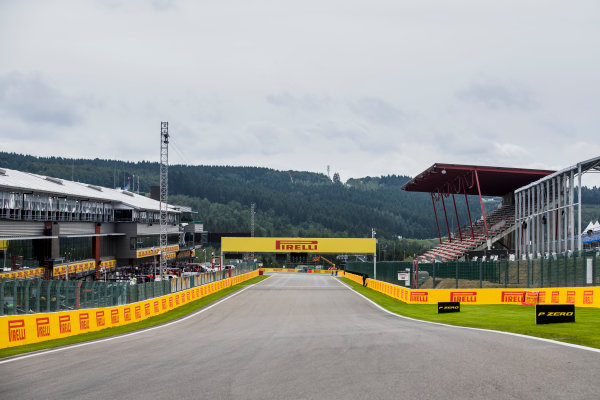 2017 FIA Formula 2 Round 8. Spa-Francorchamps, Spa, Belgium. Thursday 24 August 2017. A view of the track. Photo: Zak Mauger/FIA Formula 2. ref: Digital Image _56I0096