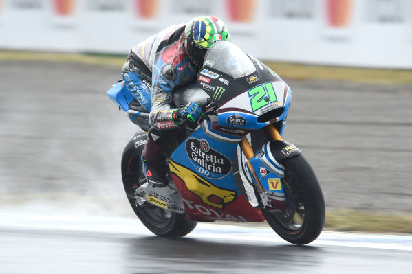 2017 Moto2 Championship - Round 15 Motegi, Japan. Friday 13 October 2017 Franco Morbidelli, Marc VDS World Copyright: Gold and Goose / LAT Images ref: Digital Image 21400