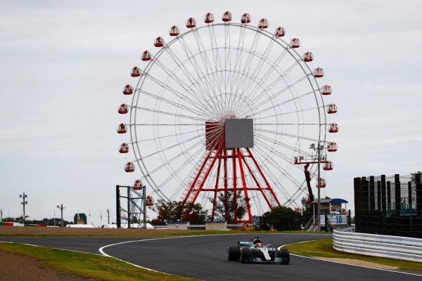Suzuka Circuit, Japan. Saturday 07 October 2017. Lewis Hamilton, Mercedes F1 W08 EQ Power+. World Copyright: Steven Tee/LAT Images  ref: Digital Image _O3I6827