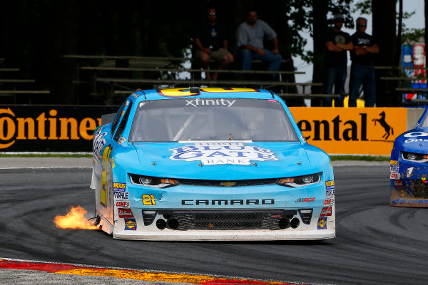 NASCAR XFINITY Series Johnsonville 180 Road America, Elkhart Lake, WI USA Sunday 27 August 2017 Daniel Hemric, Chevrolet Camaro World Copyright: Russell LaBounty LAT Images
