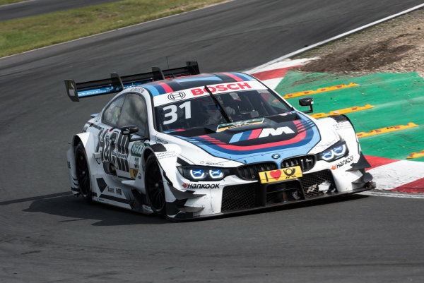 2017 DTM Round 6  Circuit Zandvoort, Zandvoort, Netherlands Sunday 20 August 2017. Tom Blomqvist, BMW Team RBM, BMW M4 DTM World Copyright: Mario Bartkowiak/LAT Images ref: Digital Image 2017-08-20_DTM_Zandvoort_R2_0474