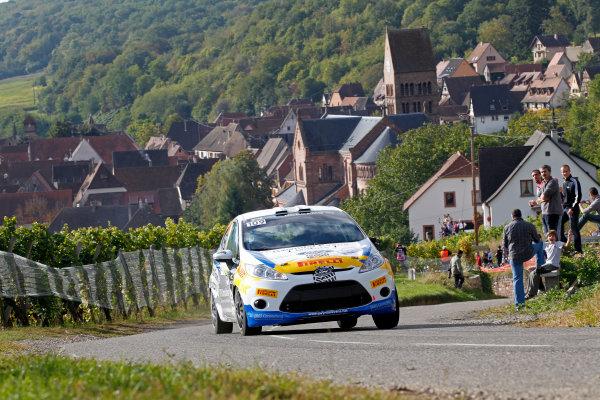 Round 11, Rallye de France 20124th - 7th October 2012Elfyn Evans, Ford, actionWorldwide Copyright: McKlein/LAT
