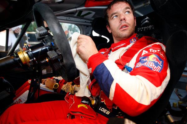 Round 12-Rally Spain. 20th-23th October 2011.Sebastien Loeb, Citroen WRC, Portrait.Worldwide Copyright: McKlein/LAT