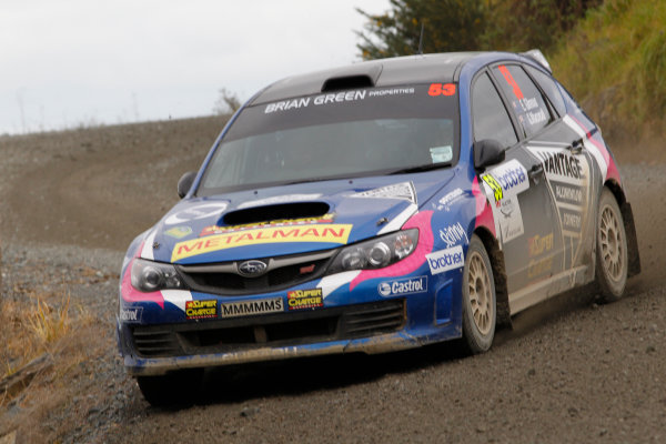 Round 7, Rally New Zealand, 21st-24th June 2012Emma Gilmour, Subaru, Action.