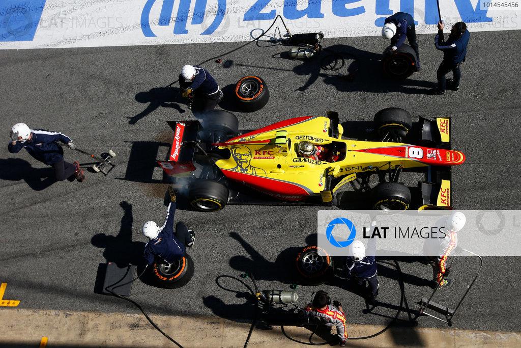 GP2 Test 1 - Barcelona, Spain