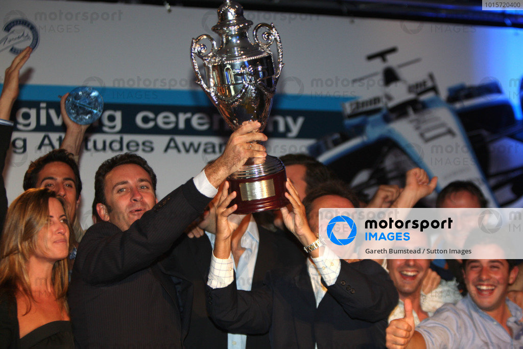 GP2 Series Prize Giving