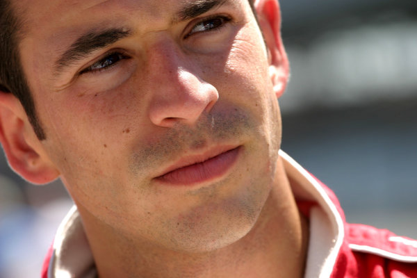 2003 Indy 500 Opening Day, 4 May, 2003, Indianapolis, Indiana, USA.Helio Castroneves-2003, Michael L. Levitt, USALAT Photographic