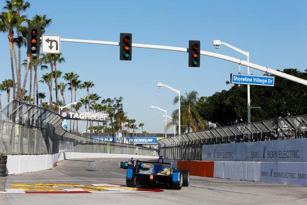 2014/2015 FIA Formula E Championship. Long Beach ePrix, Long Beach, California, United States of America. Saturday 4 April 2015 Nicolas Prost (FRA)/E.dams Renault - Spark-Renault SRT_01E  Photo: Zak Mauger/LAT/Formula E ref: Digital Image _L0U6959
