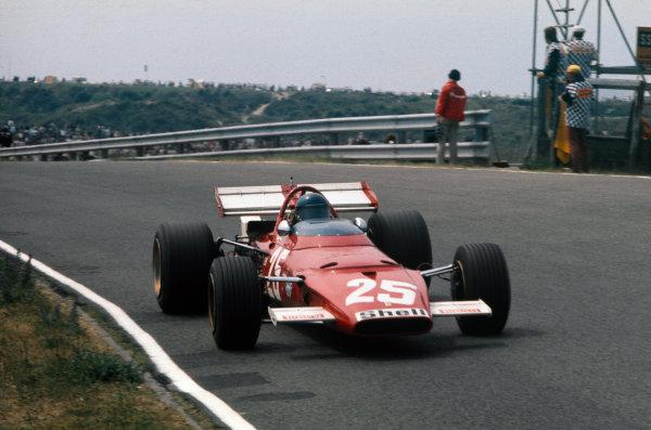 Zandvoort, Holland. 19-21 June 1970.  Jacky Ickx, Ferrari 312B, 3rd position.  Ref: 70HOL75. World Copyright: LAT Photographic