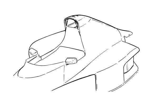 McLaren MP4-5B 1990 bodywork