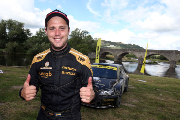 2017 British Rally Championship, Nicky Grist Stages, 8th-9th Juy 2017, Fredrik Ahlin  Skoda Fabia R5 World copyright. JEP/LAT Images