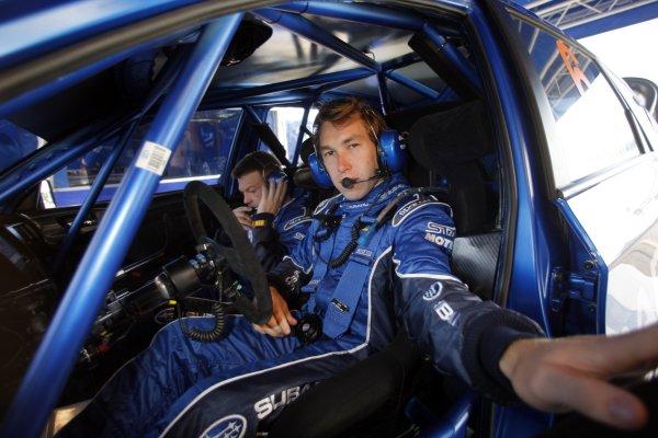 2008 FIA World Rally ChampionshipRound 07Acropolis Rally  200829/5-1/6  2008Chris Atkinson, Subaru WRC, Portrait