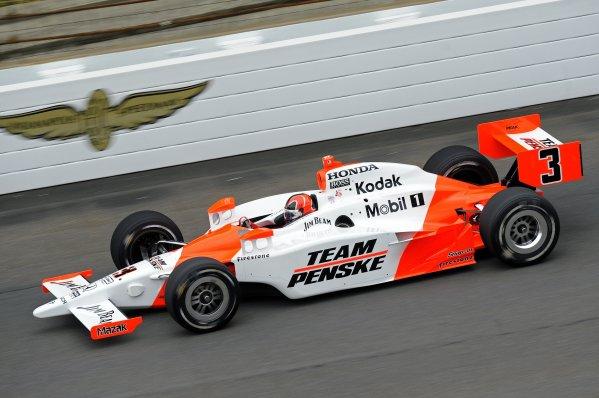 23 May 2008, Indianapolis,Indiana USAHelio Castroneves's Team Penske Honda/Dallara #3©2008 F Peirce Williams USALAT Photographic