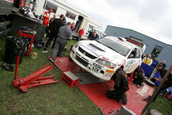 2006 British Rally ChampionshipTrackrod Rally, Yorkshire.7th October 2006Jonny Milner and Nicky BeechWorld Copyright - Ebrey/LAT Photographic