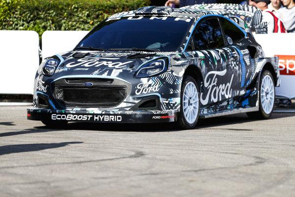 The 2022 Ford Puma WRC car