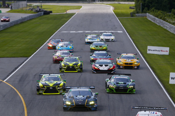 #23: Notlad Racing by RS1 Aston Martin Vantage GT4, GS: Patrick Gallagher, Stevan McAleer