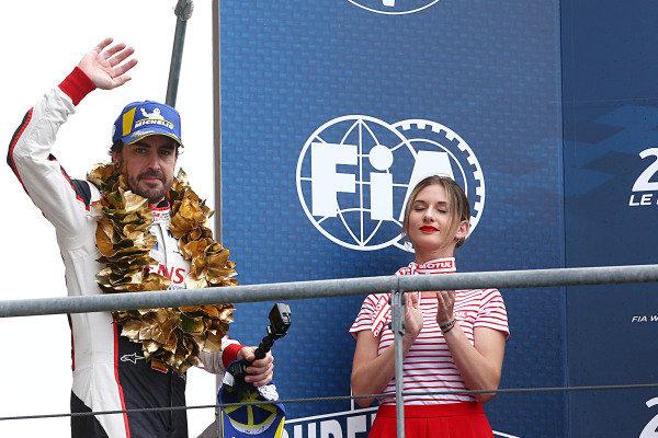 #8 Toyota Gazoo Racing Toyota TS050: Fernando Alonso wins the Le Mans 24 Hours and the FIA World Endurance Championship Super Season 2018 / 2019