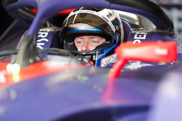 Sam Bird (GBR), Envision Virgin Racing, Audi e-tron FE05, waits to leave the garage