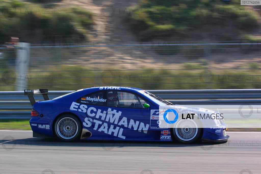 2001 DTM ChampionshipZandvoort, Holland. 22nd - 23rd September 2001.Bernd Maylander (Eschmann Stahl AMG Mercedes), action.World Copyright: Peter Spinney/LAT Photographicref: 8 5mb Digital Image Only