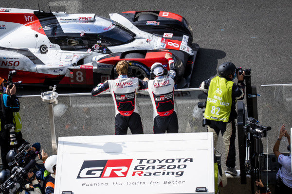 Toyota Gazoo Racing, Toyota TS050 Hybrid: Sébastien Buemi, Brendon Hartley, Kazuki Nakajima, wins the race