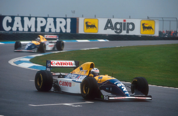 1993 European Grand Prix.