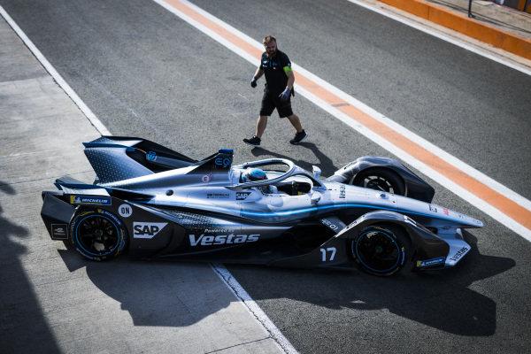 Nyck De Vries (NLD), Mercedes Benz EQ, EQ Silver Arrow 01 exits the garage